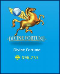 Divine Fortune ジャックポット