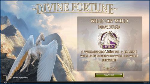Divine Fortune ジャックポット炸裂
